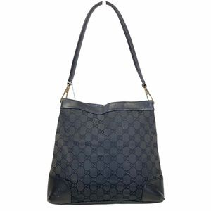 Gucci shoulder bag GG Black Canvas